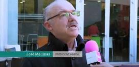 José Mellinas, president d'AMPGIL - Font: Youtube IdemTv