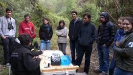 Jornada d'anellament d'aus al Campus organitzada pel grup de voluntariat de Caixes Niu de la FAS (Font: FAS)