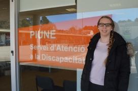 Ana Cabellera, l'estudiant d'Enginyeria Informàtica a la UAB que ha creat una app per a persones amb alteracions en la visió (Font: FAS)