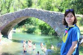 L'Anna és monitora de l'esplai Epis de Lleida - Foto: AM