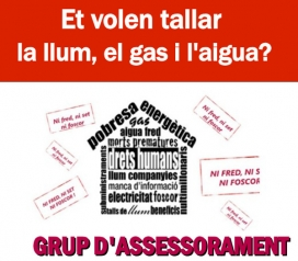 Servei d'assessorament de l'APE per a persones que pateixen pobresa energètica. Font: APE