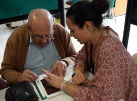 Participants al centre Nau Jove de Silla (València). Font: Fundación Esplai