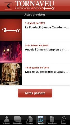 Imatge de l'aplicació per a Android de la revista Tornaveu