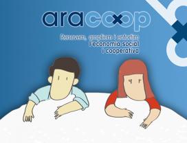 Campanya d'aracoop per posar en valor l'economia social i cooperativa