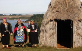Comunitat a la regió de l'Auraucania, a Chile
