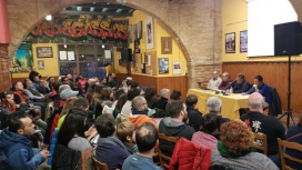 """Assemblea de la colla castellera """"Bordegassos de Vilanova"""""""