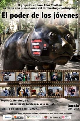 """El cartell del documental """"El poder de los jóvenes"""""""