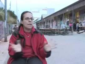 L'Aurora Àlvarez, membre de l'Associació Cultural El Bidó de Nou Barris