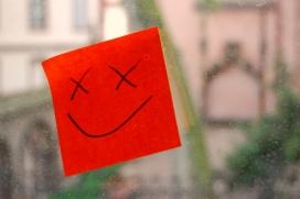 Post-it amb somriure