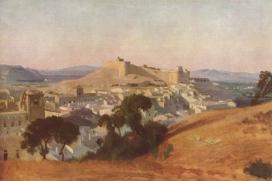 Avinyó. Pintura de Jean-Baptiste-Camille Corot (www.artelista.com)