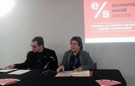 Dolors Bassa, consellera de Treball, Afers Socials i Famílies, en la presentació del balanç de cooperatives.