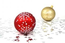 Decoracions nadalenques. Font: Creative Commons