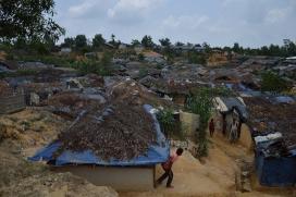 Poblat rohingya a Bangladesh.