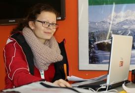 Voluntària dels Special Olympics
