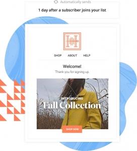 Exemple d'automatització de processos a Mailchimp
