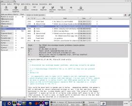 Captura de pantalla del programa Balsa