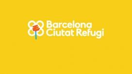 Logo de Barcelona Ciutat Refugi.