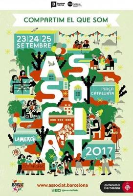 Cartell de l''Associa't a la Festa' 2017
