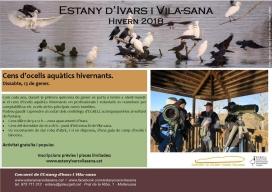 El recompte a l'Estany d'Ivars i Vilasana és obert a la participació de famílies
