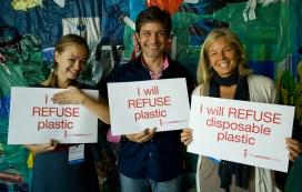 The Plastic Pollution Coalition cada vegada guanya més adeptes.
