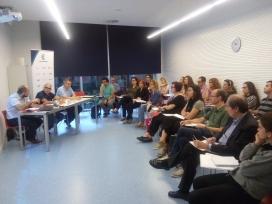 Participants en una de les sessions de la primera edició del Programa.