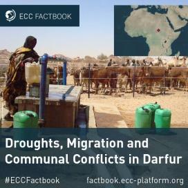 El conflicte al Darfur relacionat amb la sequera
