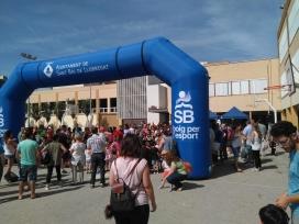 Cursa solidària de l'ONG Vols a Sant Boi de Llobregat.