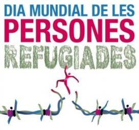 Imatge gràfica del Dia Mundial de les Persones Refugiades.