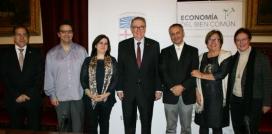 Acord de col·laboració amb la Universitat de Barcelona per l'Economia del Bé Comú