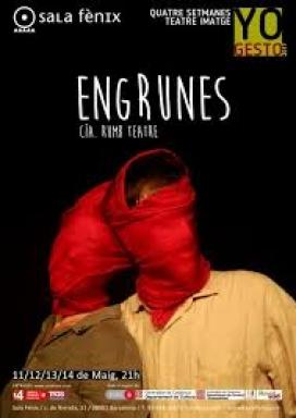 "Obra teatral ""Engrunes""."