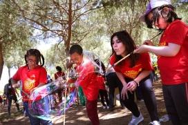 La Festa Esplai ofereix una cinquantena d'activitats lúdiques.