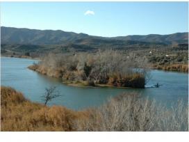 Custòdia fluvial en la ribera de l'Ebre a Flix