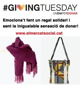 Pel Giving Tuesday compra a El Mercat Social