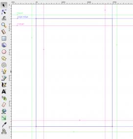 Imatge que explica les guies de Inkscape