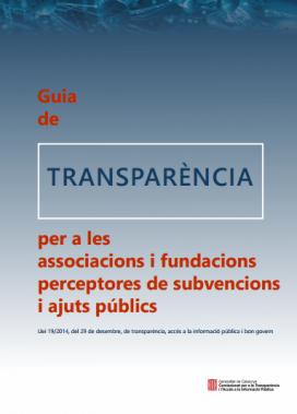 Portada de la Guia de Transparència