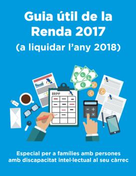 La Guia de la Renda 2017 per a persones amb discapacitat es pot consultar a través d'Internet.