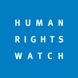 Logo de Human Rights Watch.