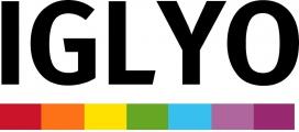 Logo de l'Organització Internacional d'Estudiants Lesbianes, Gais Bisexuals, Transsexuals i Intersexuals