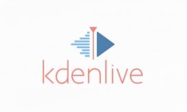 Logotip de Kdenlive, eina edició vídeo.