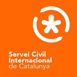 Logo del Servei Civil Internacional de Catalunya.