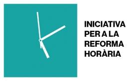Logo de la Iniciativa per a la Reforma Horària.