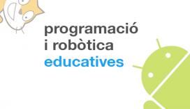 Logotip de la pàgina web de Robòtica i programació educativa de la Generalitat de Catalunya