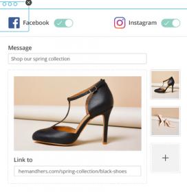 Imatge promocional de Mailchimp, per publicar publicitat de Instagram.