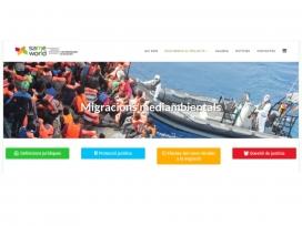Les13 ong que col·laboren al projecte Same World donen visibilitat al fenómen de la migració climàtica