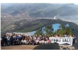 La Plataforma Prou Sal reclama el tancament aturada immediata  dels abocaments  i la retirada de residus salins als runams de Sallent i Súria.