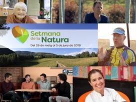Els padrins i padrines de la Setmana de la Natura expliquen la seva relació amb la natura i conviden a participar en la Setmana