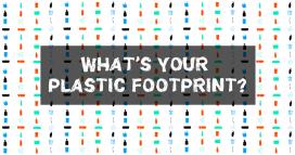 Greenpeace proposa una calculadora per conèixer la petjada de plàstic