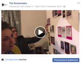 Exemple de publicació amb vídeo