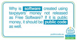 Argument de la campanya Public Money, Public Code