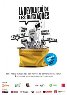 La revolució de les butxques. Campanya de comerç just i banca ètica 2017
